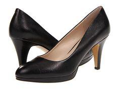 Nine West Selene Black Leather - Zappos.com