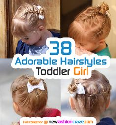 38 Adorable Hairstyles 2016 For Your Toddler Girl. awesome collection.