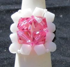 Breast Cancer Awareness Pink Jewelry Cancer by CrystalHeartFactory, $25.00