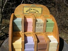 WHOLESALE SOAPS & DISPLAY by moxiealleysoaps on Etsy