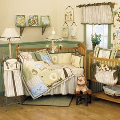 pictures of jungle baby rooms | Baby Safari Bedding by Kimberly Grant - Safari Baby Crib Bedding