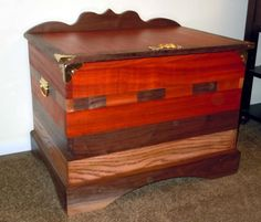 Hope Chest by Furniture By Russell out of Lees Summit, Missouri pinned with Pinvolve