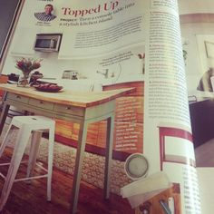 Canadian House and Home Magazine feature page 44 in the September Issue