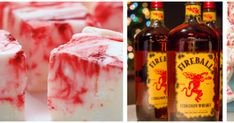 Festive Fireball Fudge Will Be The Life Of Your Party! Fireball Fudge, Diet Apps, Pigs In A Blanket, Trifle Desserts, Red Food Coloring, Baked Chips, Planning Your Day, Christmas Baking, Christmas Traditions