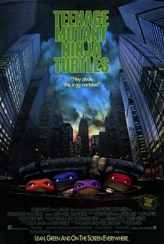 [Want to Buy] ORIGINAL 1990 TMNT Movie Poster - The Technodrome Forums