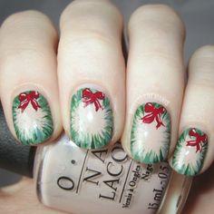 Christmas nail sticker diy santa decal 2 sheets fingernail holiday christmas by moustachemanis nail nails nailart i wouldnt normally pin prinsesfo Image collections