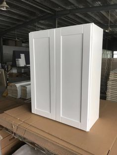 White Shaker Cabinets, Armoire, Divider, Room, Furniture, Home Decor, White Cupboards, Clothes Stand, Homemade Home Decor