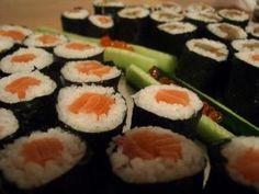 Recette Sushi Maki au saumon