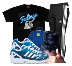 """""""."""" by karaa728 ❤ liked on Polyvore featuring adidas, MCM and adidas Originals"""
