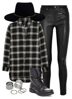 """""""..."""" by andrearosillo ❤ liked on Polyvore featuring Helmut Lang, Zimmermann, Madewell, Steve Madden, Pieces, women's clothing, women, female, woman and misses"""