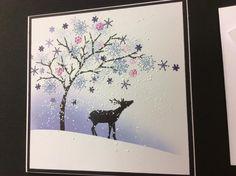 card-io majestix stamps with birdhouse Christmas Cards 2017, Christmas Card Crafts, Christmas Paper, Xmas Cards, Handmade Christmas, Holiday Cards, Cardio Cards, Winter Karten, Card Io