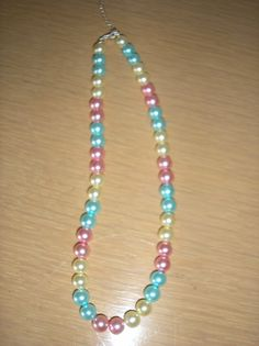 Multi color pastel MOP shell pearl by CreationsbyMaryEllen on Etsy, $8.75