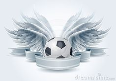 Illustration about Highly detailed vector wings and soccer ball banner illustration. Elements are layered separately in vector file. Illustration of ornament, graphic, banner - 24325561 Football Field, Football Cleats, Soccer Art, Soccer Banner, Making The Team, Keep It To Yourself, Soccer Pictures, Best Player, Soccer Players