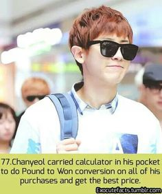Exo fact THAT IS AMAZINGLY BRILLIANT.