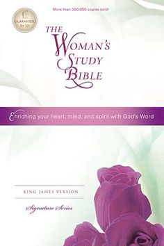 The Women's Study Bible KJV in Hardcover or leather look. Thomas Nelson Publishers.     I just bought this and I'm ready to dig in. Praise The Lord!