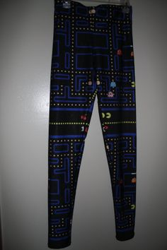 Hey, I found this really awesome Etsy listing at http://www.etsy.com/listing/176277997/pacman-leggings-size-small