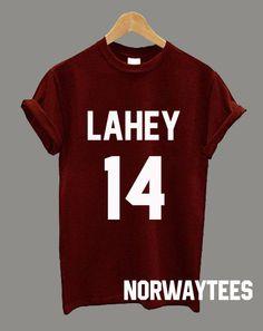 LAHEY 14 Beacon Hills Unisex Shirt Fashion Hipster by Norwaytees