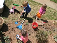 An Article On - Letting Kids Get Dirty