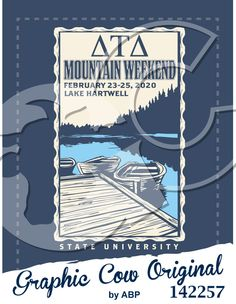 Mountain Weekend dock lake design #outdoors #mountainweekend #grafcow