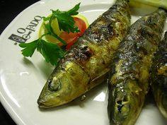 """Sardinhas assadas - Food at """"O Fado Restaurant"""""""