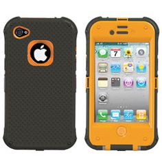 Keystone ECO NautiCase - Sturdy, Rugged, Splash-Proof Case for iPhone 4S/4