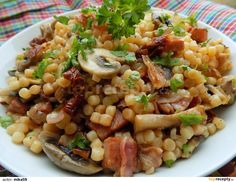 Bon Appetit, Pasta Salad, Risotto, Food And Drink, Pizza, Healthy Recipes, Cooking, Ethnic Recipes, Fitness