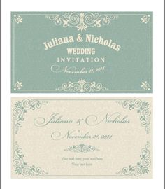 Decorative pattern wedding invitation cards vector set 02 - https://gooloc.com/decorative-pattern-wedding-invitation-cards-vector-set-02/?utm_source=PN&utm_medium=gooloc77%40gmail.com&utm_campaign=SNAP%2Bfrom%2BGooLoc
