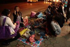 Night Shopping in Bangkok