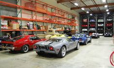 Wow-- this garage is more of warehouse ...nice collection.