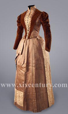 c.1889-92 Day Dress (no original source)