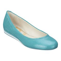 obsessed with nine west flats - and these have a rubber bottom...perfect for summer walks around the city