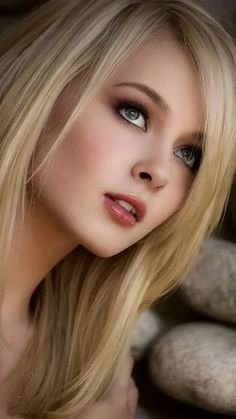 All beautiful women most beautiful faces, beautiful eyes, beautiful picture Beauté Blonde, Blonde Beauty, Hair Beauty, Blonde Women, Beauty Makeup, Eye Makeup, Hair Makeup, Lovely Eyes, Most Beautiful Faces
