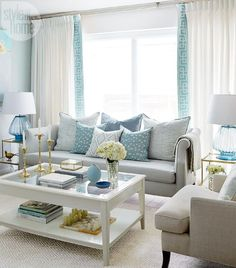 Do You Love The Color Turquoise But Donu0027t Know How To Add It Into. More  Information. More Information. Best Living Room Color Scheme Ideas ...