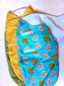 Sewing Projects For Baby a little gray: Baby Gifts: Bibs and Swaddlers - Sew up this cute snuggler swaddle pattern from the book Simple Sewing for Baby. Baby Sewing Projects, Sewing For Kids, Sewing Hacks, Sewing Tutorials, Sewing Crafts, Sewing Ideas, Free Sewing, Baby Patterns, Sewing Patterns