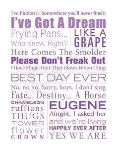Image result for disney Rapunzel quotes