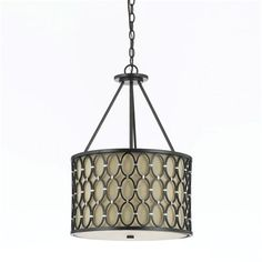 Candice Olson by AF Lighting 810 Cosmo 3-Light Large Pendant