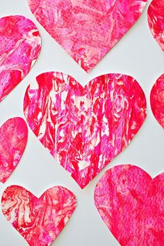 9 easy Valentine's Day heart crafts for kids we love Easy Valentine's Day crafts for kids: Love this Valentine Shaving Cream Heart Art at Hello, Wonderful. Sure to be a hit! Valentine's Day Crafts For Kids, Valentine Crafts For Kids, Valentines Day Hearts, Valentine Day Love, Valentine Day Crafts, Projects For Kids, Art Projects, Summer Crafts, Summer Fun