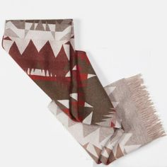 Pendleton Portland Collection Fringed Scarf #adornpintowin