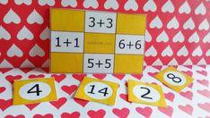 Bingo de suma de números iguales