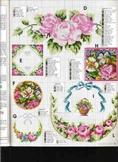 Gallery.ru / Фото #19 - кладовочка разностей - irisha-ira Cute Cross Stitch, Cross Stitch Borders, Cross Stitch Charts, Le Point, Coasters, Crossstitch, Table Runners, Valances, Cooking