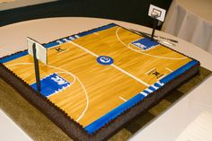 Basketball Court Cake Images : 1000+ images about Basketball Birthday Cakes on Pinterest ...