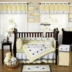 Bumble Bee Bedding by JoJo Designs - Baby Crib Bedding - bumblebee-9