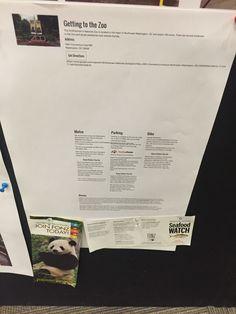 WA 11/02 zoo handouts