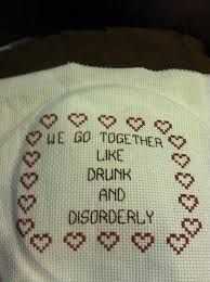 Image result for funny cross stitch