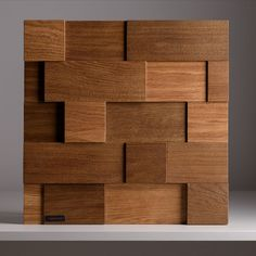 Renewed wall panels Loft Brush Panels design: YourFoRest Materials: ash, oak Coating: lacquer, oil Art toning