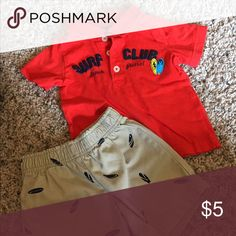 Carters Summer Outfit EUC cute summer outfit! Carter's Matching Sets