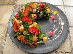 Creatieve Hobby's Deco Floral, Arte Floral, Floral Design, Simple Flowers, Fresh Flowers, Flower Show, Flower Art, Art Flowers, Contemporary Flower Arrangements