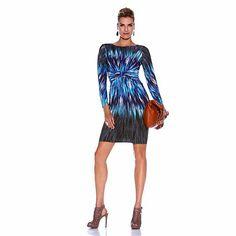 DAVID David Meister Kaleidoscope Jersey Dress - love it, can't wait to wear it!