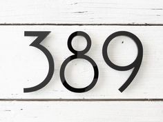 8 inch House Numbers - Modern Farmhouse Apartment Building Home Address - Art Deco Door Number Large House Numbers, Metal House Numbers, House Numbers Modern, Midcentury House Numbers, Front Door Numbers, Farmhouse House Numbers, House Address Sign, Address Signs, House Address Numbers