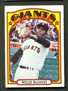 Willie McCovey 1972